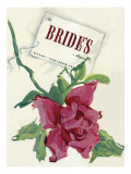 Brides Cover - August, 1939 Premium Giclee Print by Marchiano Unknown