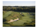 Valhalla Golf Course, Hole 9 Premium Photographic Print by Stephen Szurlej