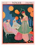 Vogue Cover - July, 1913 Regular Giclee Print by Helen Dryden