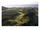 Cabo Real Golf Course, aerial, Holes 3 and 4 Premium Photographic Print by Stephen Szurlej
