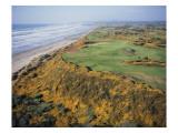 Bandon Dunes Golf Course Regular Photographic Print by J.D. Cuban