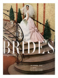 Brides Cover - April, 1959 Premium Giclee Print by Tony Ynocencio