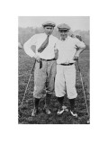 Gene Sarzen and Leo Diegel, The American Golfer March 8, 1924 Regular Photographic Print by Unknown Unknown