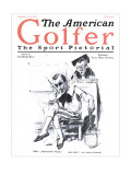 The American Golfer August 22, 1925 Premium Giclee Print by James Montgomery Flagg