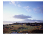 St. Andrews Golf Club Old Course, aerial Premium Photographic Print by Stephen Szurlej