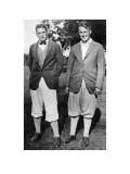 Bobby Jones and Watts Gunn Regular Photographic Print by Edwin Levick