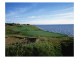 Whistling Straits Golf Club, Hole 4 Regular Photographic Print by Stephen Szurlej
