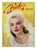 Brides Cover - August, 1943 Premium Giclee Print by Wynn Richards