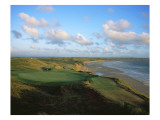 Ballybunion Golf Club Old Course, Holes 4 and 10 Premium Photographic Print by Stephen Szurlej