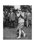 Glenna Collett, The American Golfer October 1930 Regular Photographic Print by Unknown Unknown