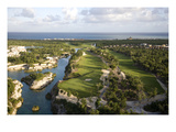 Mayakoba Golf Course Regular Photographic Print by Stephen Szurlej
