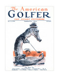 The American Golfer July 14, 1923 Premium Giclee Print by James Montgomery Flagg