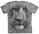 White Tiger Face Camisetas