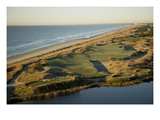 Kiawah Island Resort, Ocean Course, aerial Premium Photographic Print by Stephen Szurlej