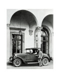 Studebaker Roadster, The American Golfer, May 16, 1925 Regular Photographic Print by Unknown Unknown