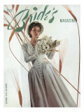 Brides Cover - August, 1941 Regular Giclee Print by  Matter-Bourges