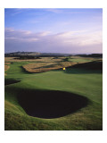 Muirfield Golf Club, Hole 13 Premium Photographic Print by Stephen Szurlej