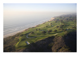 Torrey Pines Municipal G.Cse., Hole 3 Regular Photographic Print by Stephen Szurlej