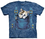 Kitty Overalls T-shirts