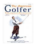 The American Golfer February 21, 1925 Premium Giclee Print by James Montgomery Flagg