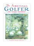 The American Golfer June 14, 1924 Premium Giclee Print by James Montgomery Flagg