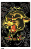 Ed Hardy - Panther 13 Masterprint