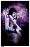 Jimi Hendrix - Purple Haze Masterprint