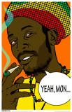 Rasta Yeah Mon Masterprint