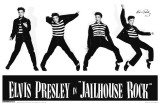 Elvis - Jailhouse Rock Masterprint