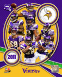 Minnesota Vikings 2011 Team Composite Fotografía