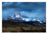 A View from the Ranch in Argentina Premium Photographic Print by Trey Ratcliff
