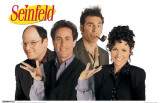 Seinfeld - Cast Masterprint