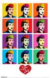I Love Lucy - Pop Art Masterprint