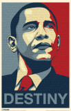 Obama - Destiny Speech Masterprint