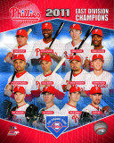 Philadelphia Phillies 2011 NL East Champions Composite Photographie