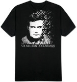 Six Million Dollar Man - 6Mil Pixel T-Shirt
