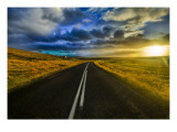The Open Road Premium Photographic Print by Trey Ratcliff
