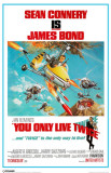 James Bond - You Only Live Twice Masterprint