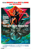 James Bond - The Spy Who Loved Masterprint