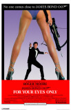 James Bond - For Your Eyes Only Masterprint