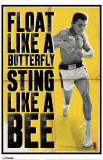 Ali - Float Like A Butterfly Masterprint
