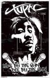 Tupac Wall Masterprint