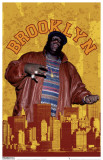 Notorious BIG - Brooklyn Masterprint