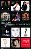 Michael Jackson - Album Covers Masterprint
