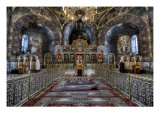 Unorthodox Religion at Kievo-Pecherskaya Larva Premium Photographic Print by Trey Ratcliff