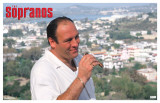 Sopranos - Tony in Italy Masterprint