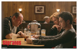 Sopranos - Diner Masterprint