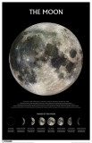 The Moon - Outer Space Masterprint