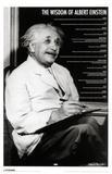 Albert Einstein - Quotes Masterprint