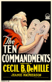 Ten Commandments Masterprint
